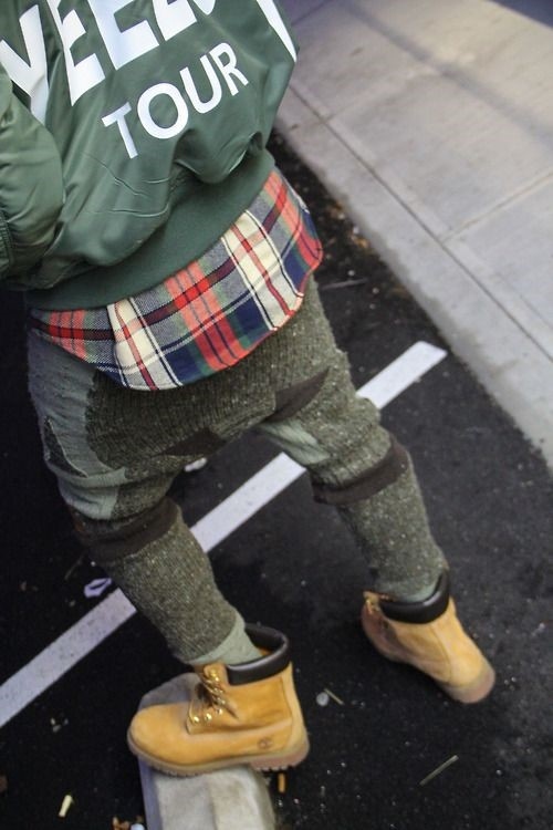male outfits with timberland shoes13